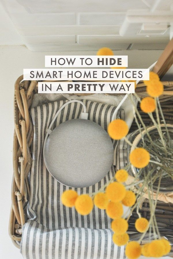 How to Hide Google Home Mini, Alexa or Any Smart Home Devices