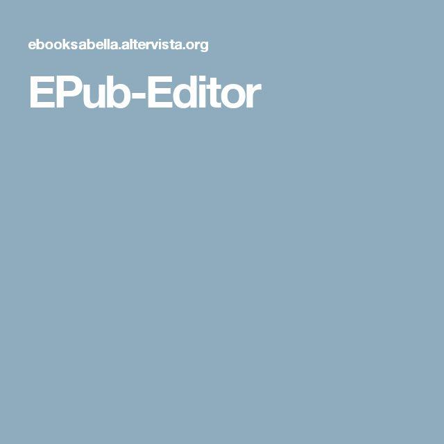 EPub-Editor