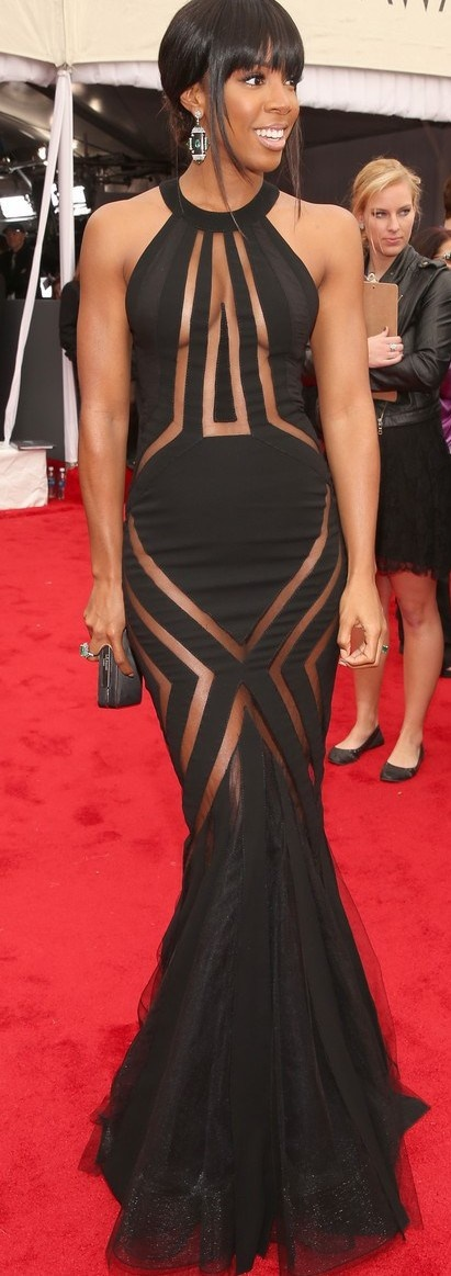 Kelly Rowland in Georges Chakra.