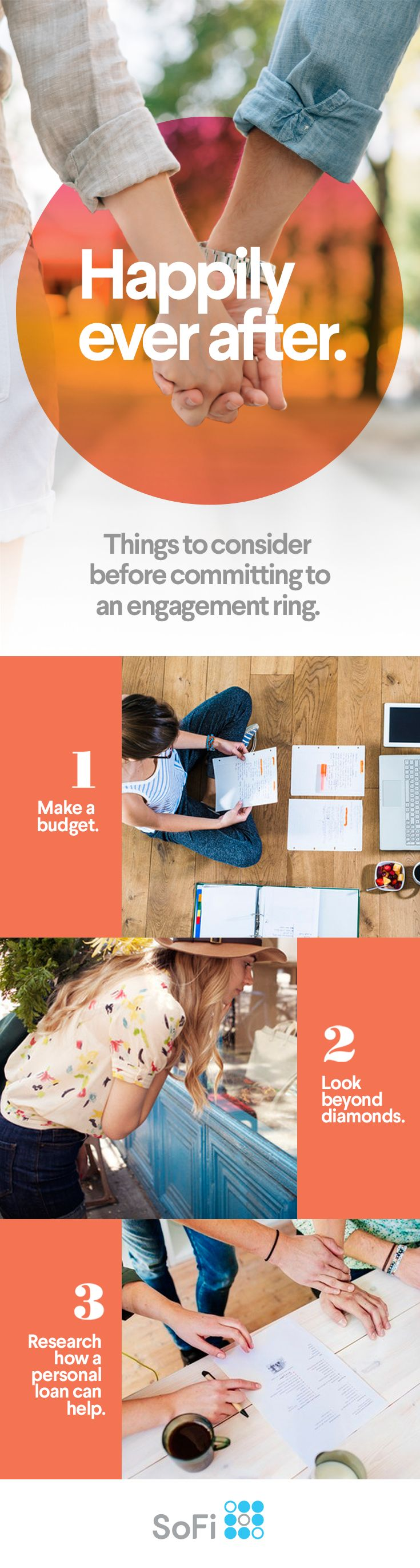 You're getting close to a proposal. Before you start planning the wedding, it's time to pick out the engagement ring. We can help you make the buying and budgeting process simple, even if you're still debating the perfect style: vintage, classic, or modern.