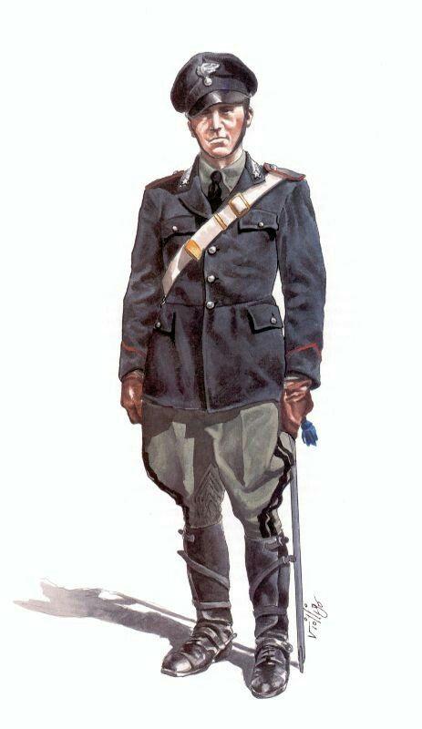 Italian Cavalry Carabinieri, 1939