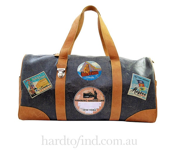 Weekend Bag in Old Blue,  Miniséri $320
