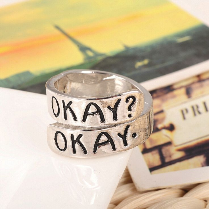 """The Fault in Our Stars """"Okay? Okay."""" Ring"""