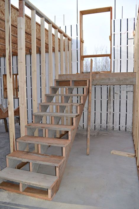 37 best Construction Stairs images on Pinterest Stairs Basement