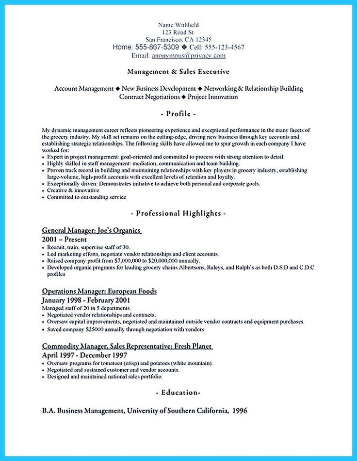 1000  ideas about sales resume on pinterest