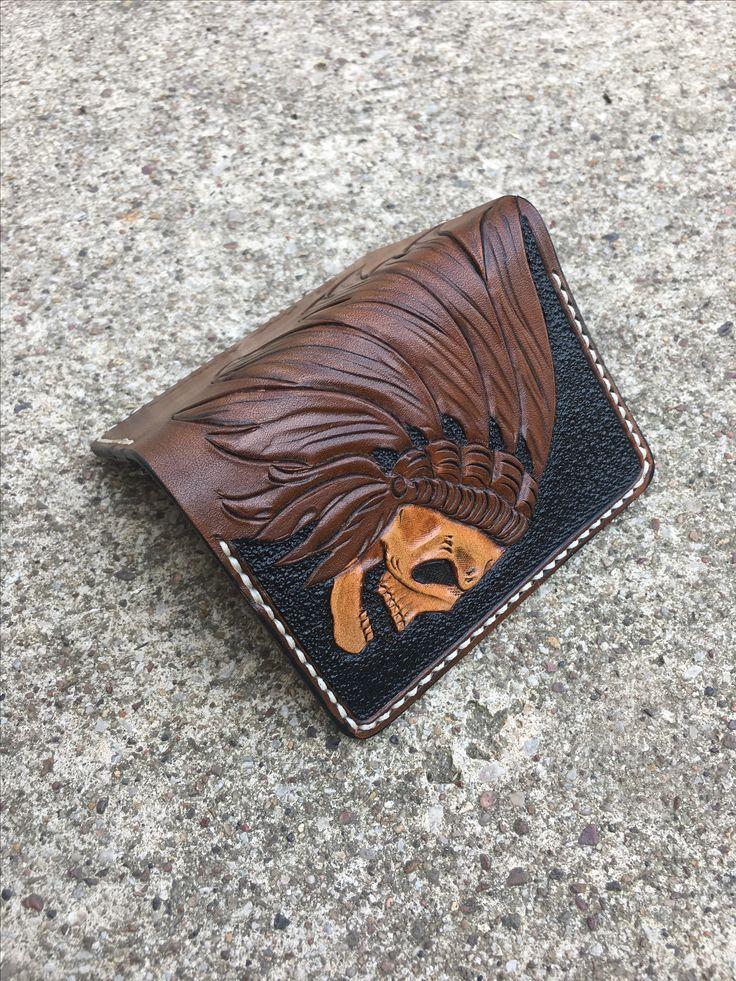 War Chief Card Wallet by The Proper Gentleman @thepropergentleman_ #thepropergentleman #warcheif