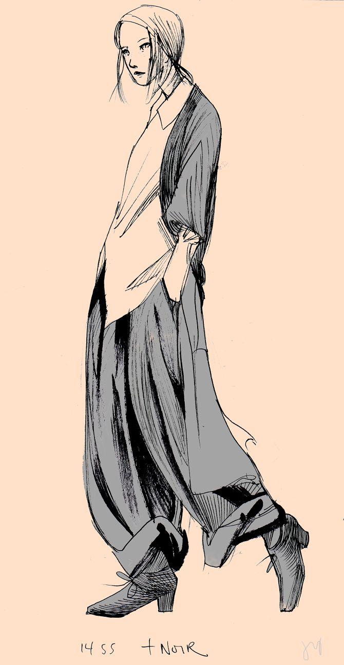 Yohji Yamamoto - Jenny Yu | Illustration and Design More