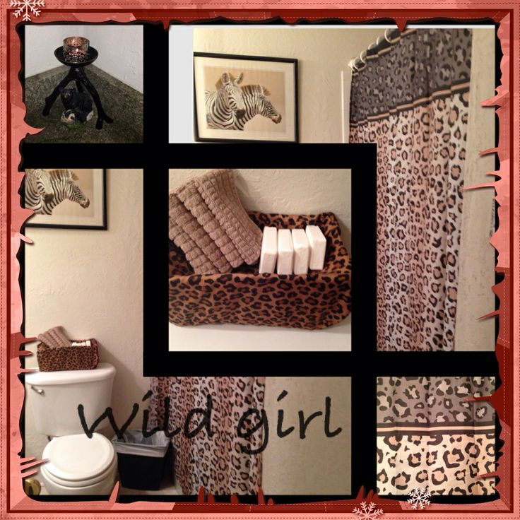 My daughter bathroom you can find the items at ross for Bathroom decor ross