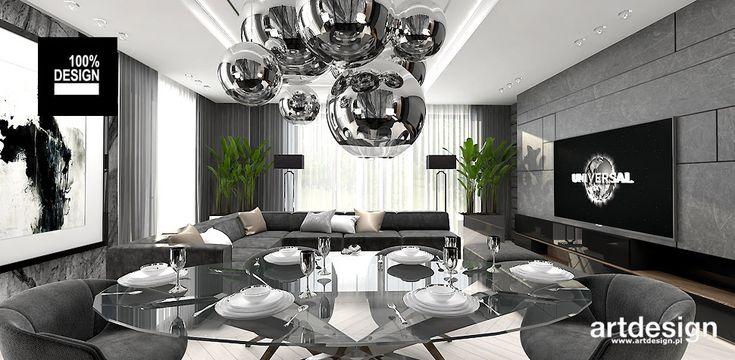 KEEP THE BALL ROLLING   Wnętrza apartamentu   aranżacja w stylu nowoczesnym