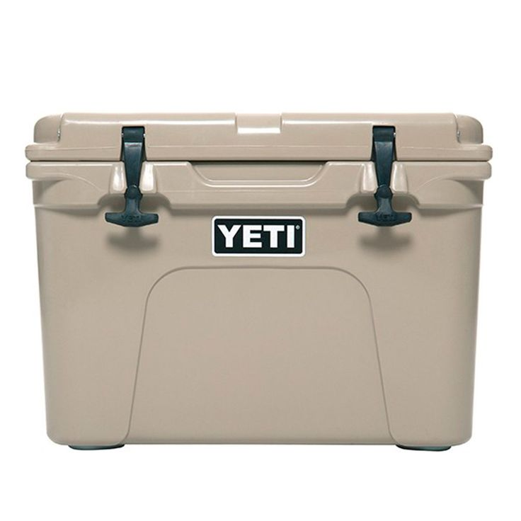 Want a YETI cooler but don't want a giant cooler to have to lug around, then the YETI Roadie is the perfect cooler for you. The cooler comes with all the features of a YETI product such as the NeverFa