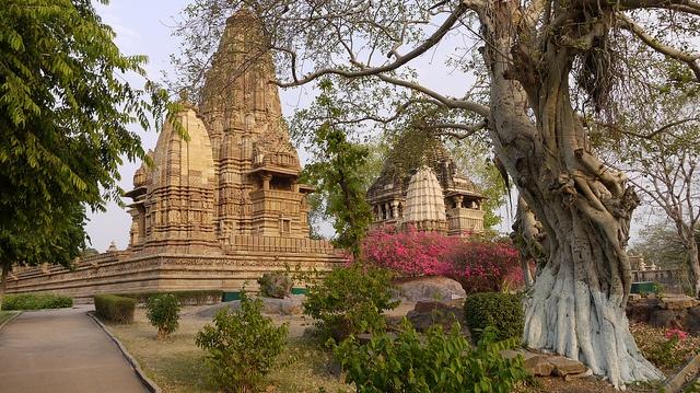 Inde - Khajuharo, les Temples Ouest.