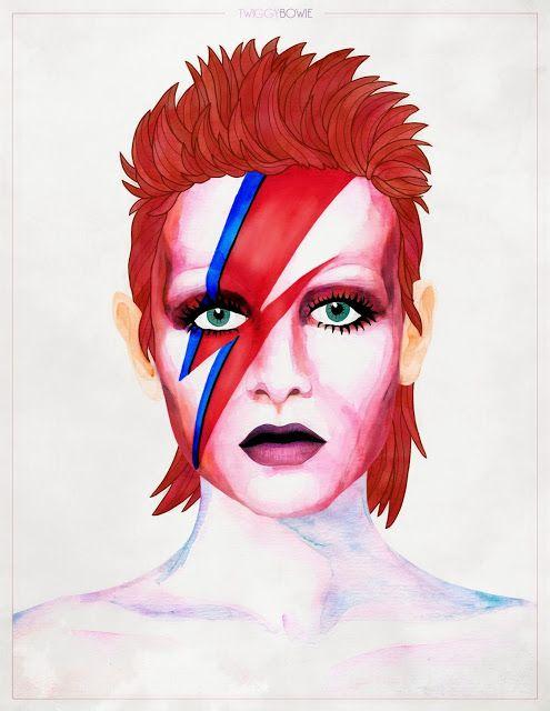 Twiggy - Bowie