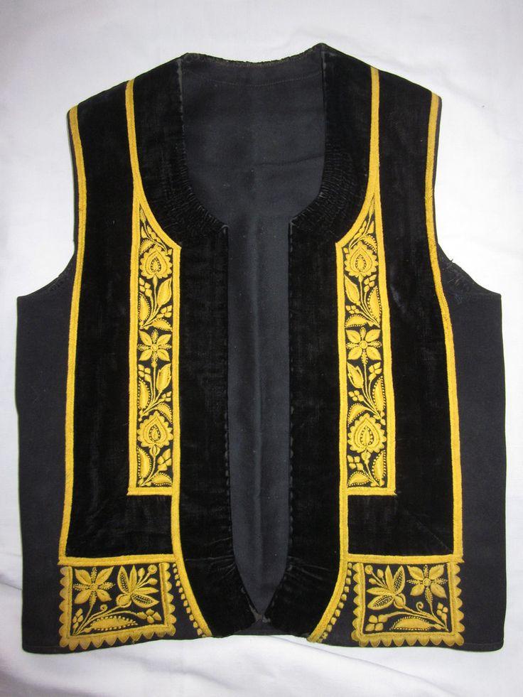 Costume homme d'Elliant 1920 - costumesetbroderies.over-blog.com
