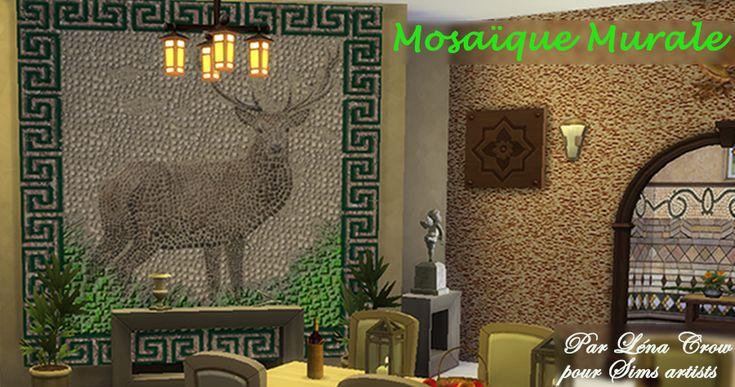 Mosaique murale Antique