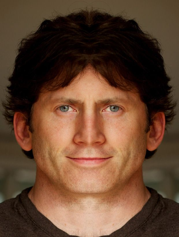 mirror effect on todd howard's face