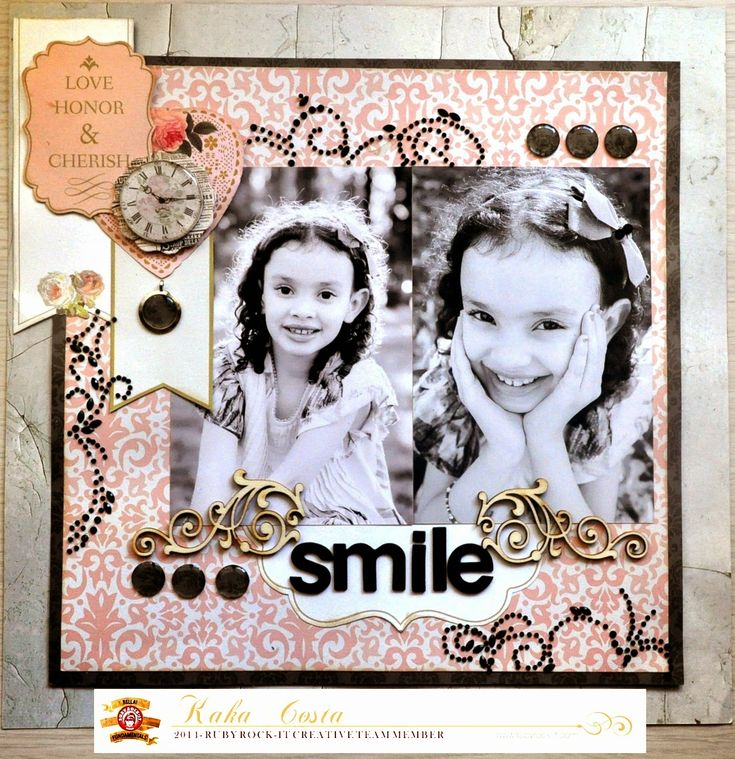 #scrapbook #layout made with @rubyrockit2013 and the #epiphanycrafts Shape Studio Tool Round 14
