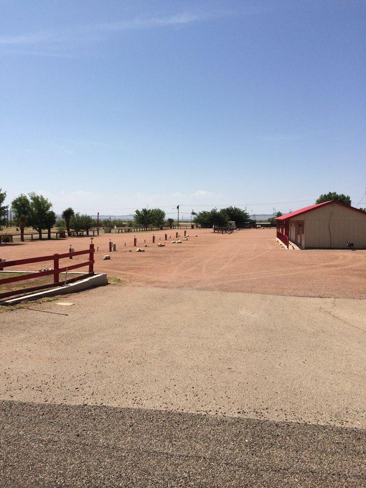 Desert Willow RV Park At Van Horn TX