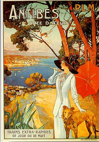 Old Advertising Antibes - Cap d'Antibes Beach Hotel***** Relais  Châteaux, French Riviera - France