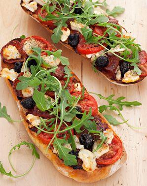 Jane Hornby's ciabatta pizza: Pizza Recipe, Health Fitness, Food, Summer Recipe, Recipe Ideas, Easy Summer, Homemade Pizza