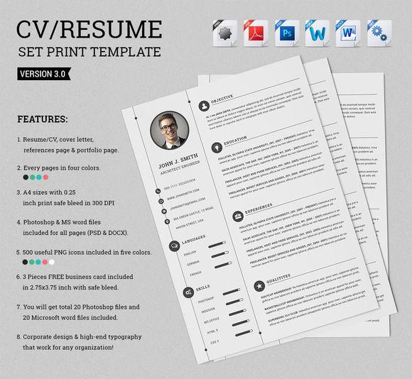 7 best Visual Resume images on Pinterest | Resume, Resume design and ...