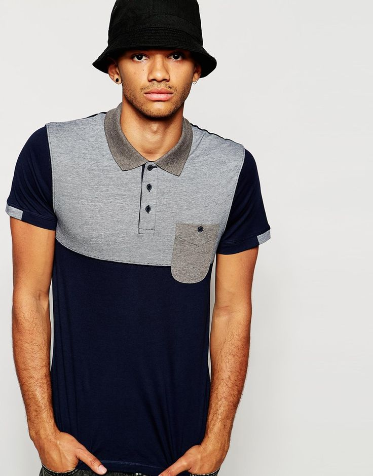 Jack & Jones Polo Shirt with Contrast Yoke