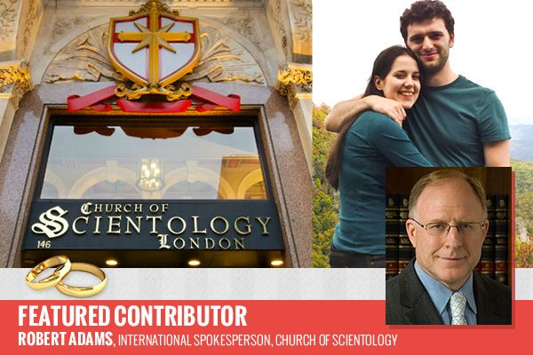 First Official UK Wedding in a Scientology Church - World Religion News  http://www.worldreligionnews.com/issues/first-official-uk-wedding-scientology-church  Having a wedding is a relatively straightforward affair. Not so for couple Louisa Hodkin and Alessandro Calcioli. For them, getting married in their chosen place of worship—a Scientology chapel—included overcoming a legal battle.