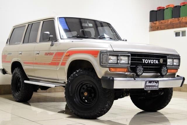 Rare 1989 Toyota Land Crusier Lifted 12ht 4 0l Turbo Diesel Engine For Sale Photos Technical Specifications Descript Toyota Toyota Land Cruiser Land Cruiser