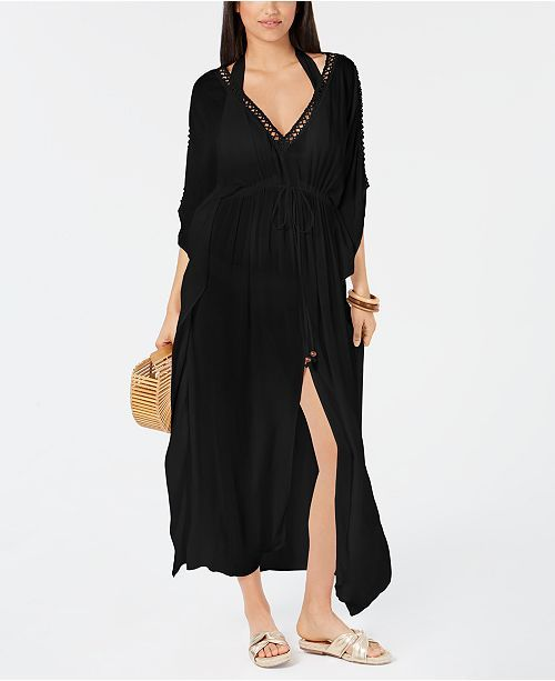 fbd787d5bc Raviya Crocheted Maxi-Dress Cover-Up - Swimwear - Women - Macy's