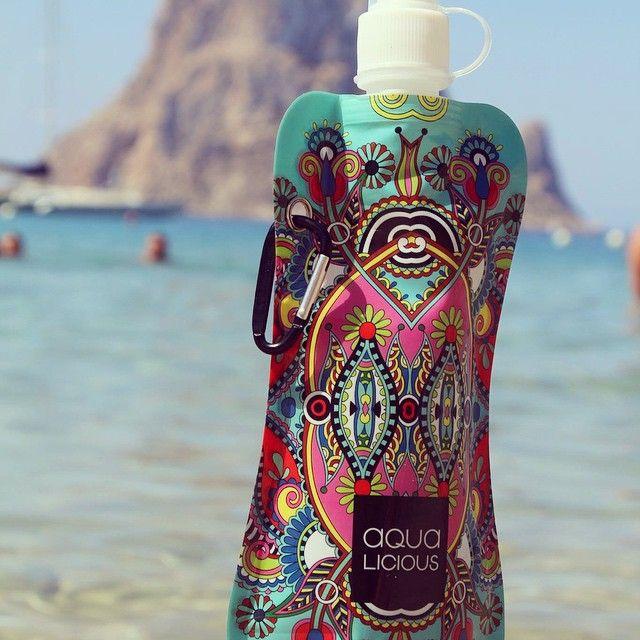Aqua-Licious drink waterzakjes, hervulbaar, hip en handig!