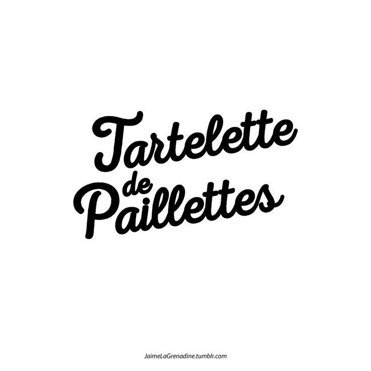 Tartelette de paillettes - #JaimeLaGrenadine >>>...
