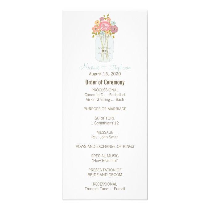 2795 best Wedding Program Templates images on Pinterest