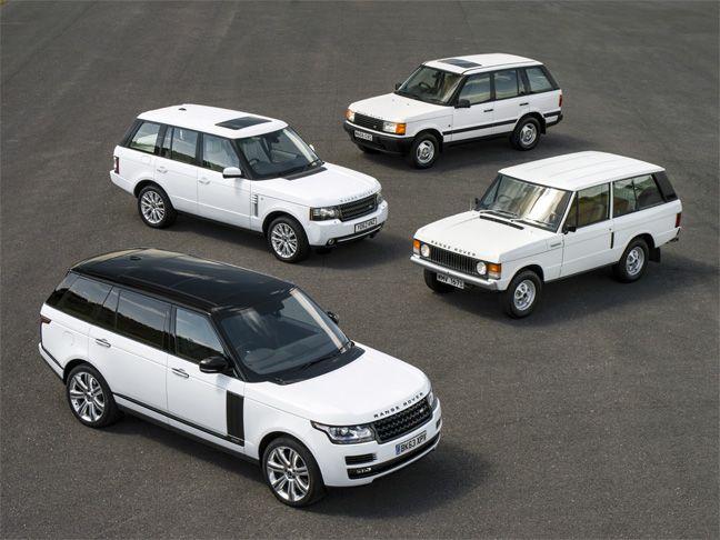 Le Range Rover célèbre ses 45 ans.