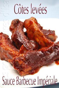 Les gourmandises d'Isa: COTES LEVÉES SAUCE BARBECUE IMPÉRIALE