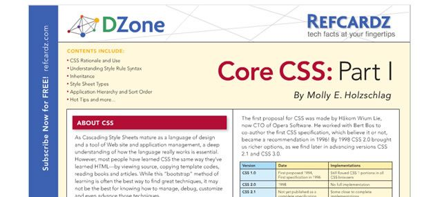CSS References, Tutorials, Cheat Sheets, Conversion Tables and Short Codes