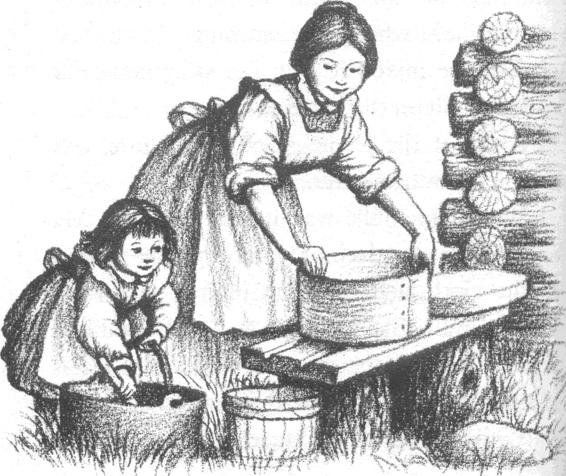Little house in the big woods little house on the for Laura ingalls wilder coloring pages