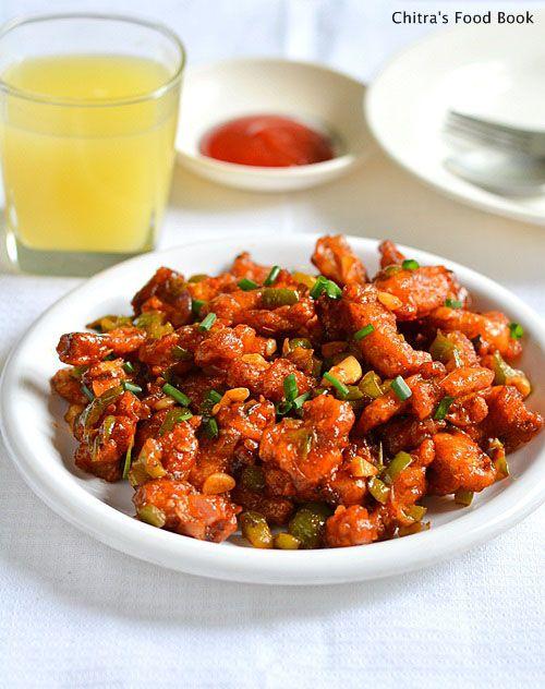 Chitra's Food Book: BABY CORN MANCHURIAN RECIPE-BABY CORN RECIPES