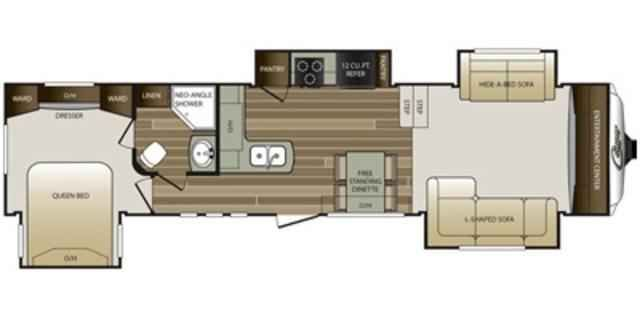 2016 New Keystone Cougar 337FLS Fifth Wheel in Virginia VA.Recreational Vehicle, rv, 2016 Keystone Cougar337FLS, 12cu. ft. Side by Side Refrigerator, 13.5k BTU Non Ducted Bedroom A/C, 15,000 BTU Air Conditioner, Bike Storage Rack, Camping In Style Pack, Clay Medallion, Convenience Package, Correct Track, Cougar Package, Cougar Remote, Decor- Platinum, Electric 4pt. Levelin, Frameless Tinted Windows, Free Standing Dinette, L-Sofa w/Ottoman, LED Ceiling Lights, Polar Plus Package, RVIA Seal…