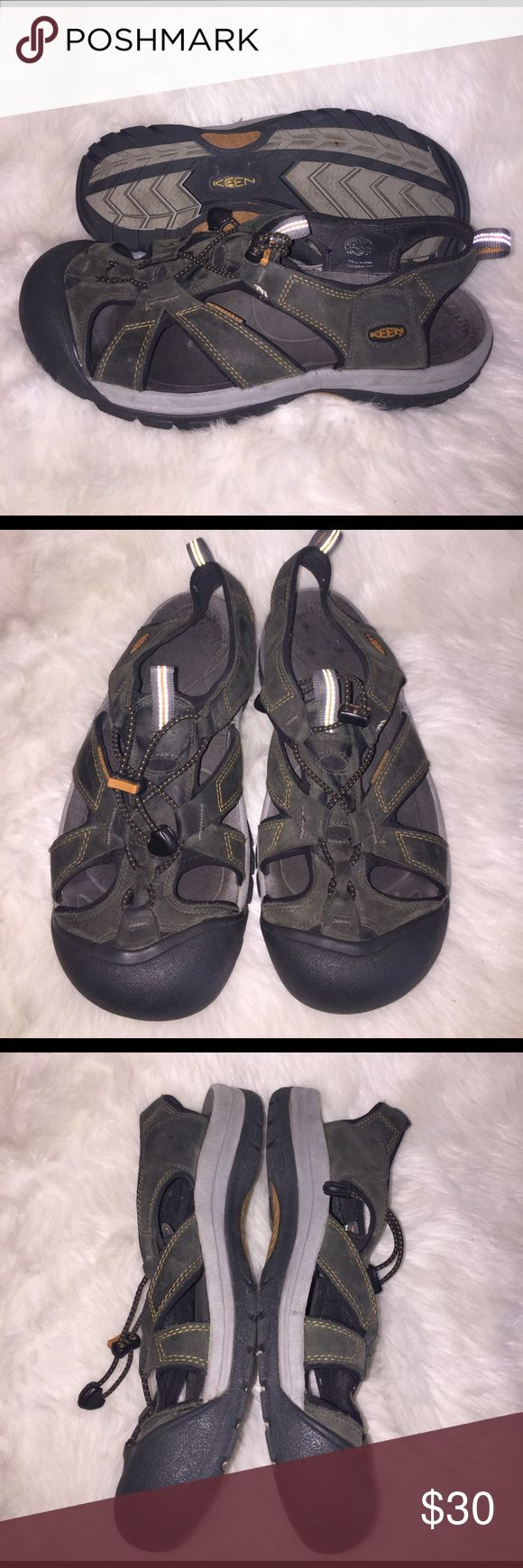 Sandals or shoes for hiking - Men S Keen Hiking Sandals Men S Keen Hiking Sandals Waterproof Size 10 5 Great Used
