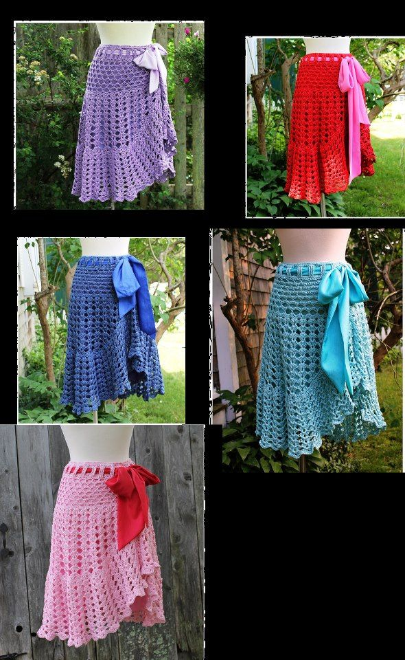 Beautiful Crochet Skirt