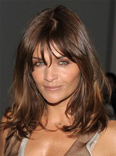 haircuts for thick hair and faces 1000 ideas about bangs on hair 5052