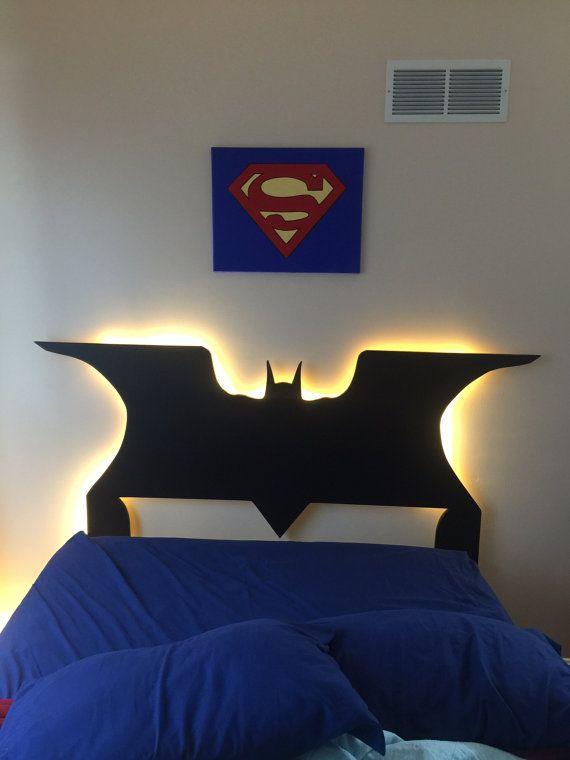 Youth Kids Bedroom Batman Dark Knight Twin Size Platform: 25+ Best Ideas About Kids Headboards On Pinterest