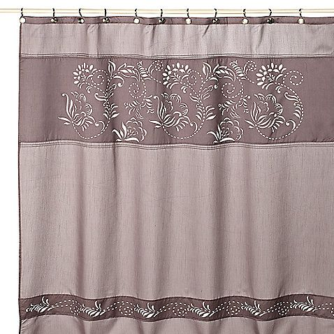 Waterville 72 Inch X Fabric Shower Curtain
