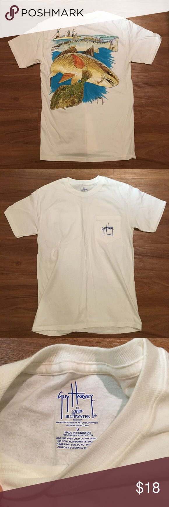 New Guy Harvey fish tee New without tags Guy Harvey fishing tee - perfect condition. Guy Harvey Shirts Tees - Short Sleeve