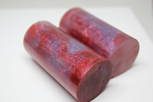 """Duck Goose Call Blank 1-1/2 x 3"""" (Red With Hints of Blue) 2 pack   http://huntinggearsuperstore.com/product/duck-goose-call-blank-1-12-x-3-red-with-hints-of-blue-2-pack/"""