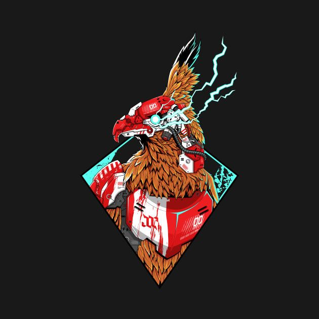 Check Out This Awesome Garuda Cyber Design On Teepublic Teepublic Cyberpunk Garuda Robot Cyborg Eagle Tshirt Seni Grafis Sejarah Seni Seni 3d Garuda wallpaper hd for android