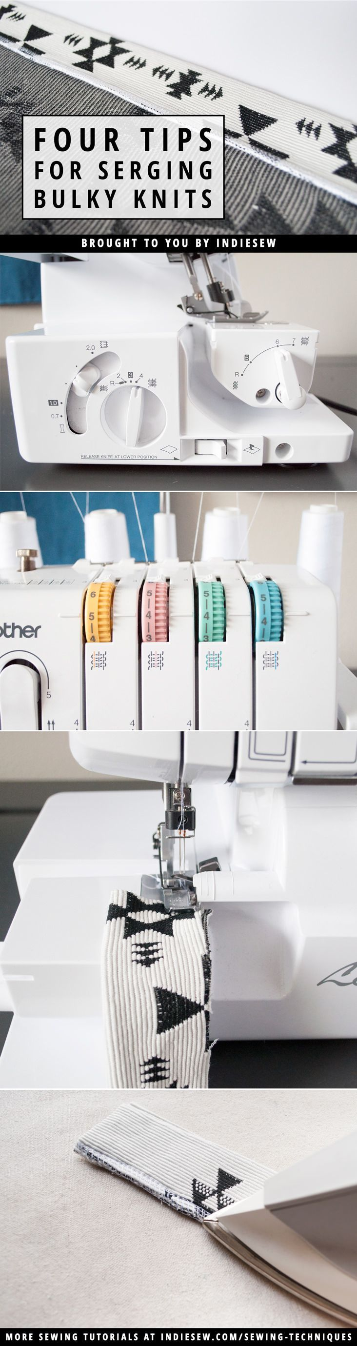Tips on using the right serger thread.
