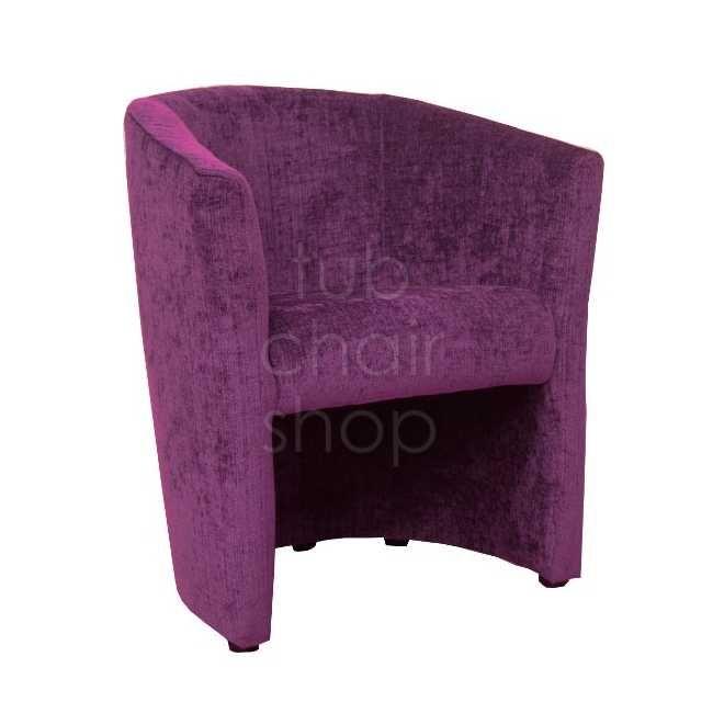 Bright purple tub