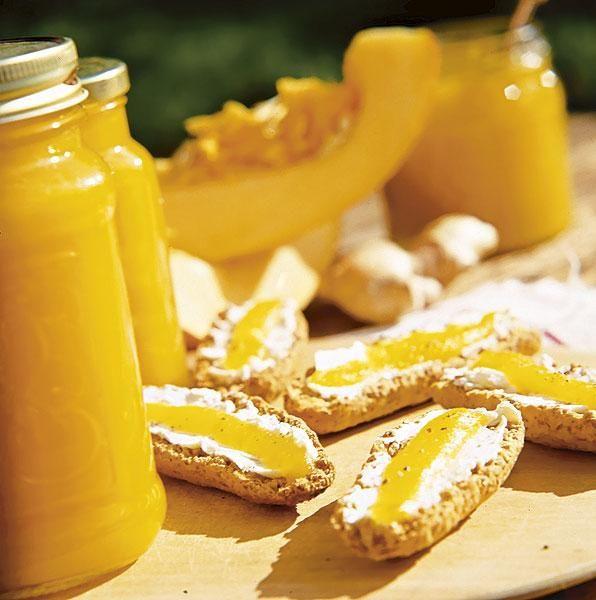 Sitruunainen kurpitsahillo