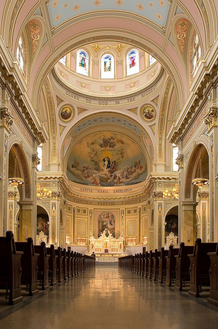 St. Mary of the Angels Catholic Church in Chicago is an example of the Polish Cathedral style of churches. It has been acclaimed as one of the finest specimens of Roman Renaissance architecture in the United States.