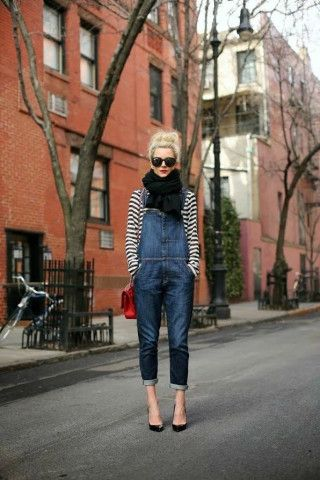 Yes, you can work overalls!